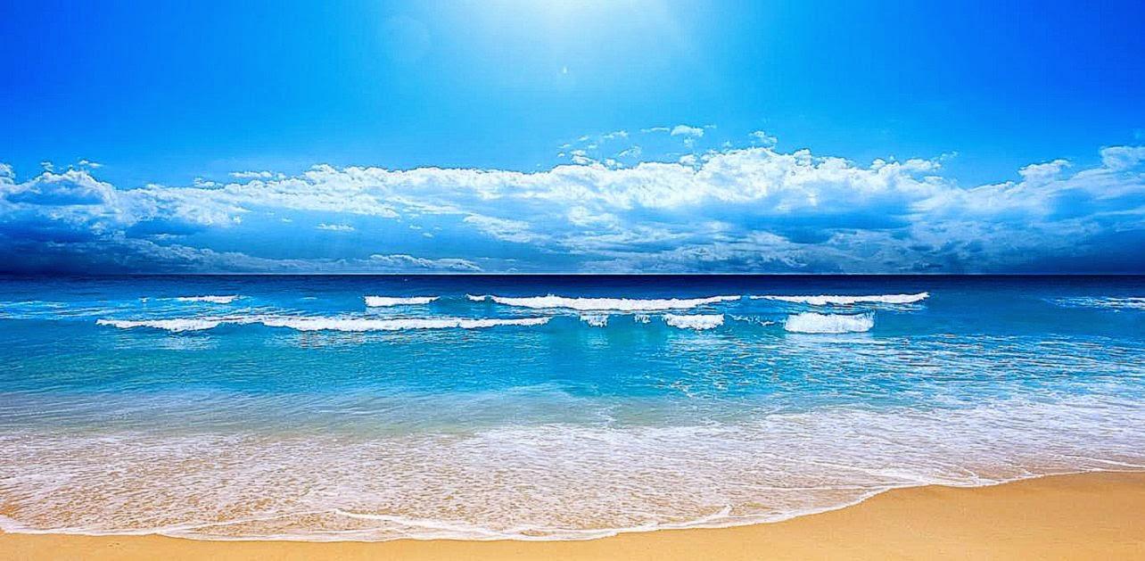 Tropical Island Beach Ambience Sound: Best Ocean Screensavers Wallpaper