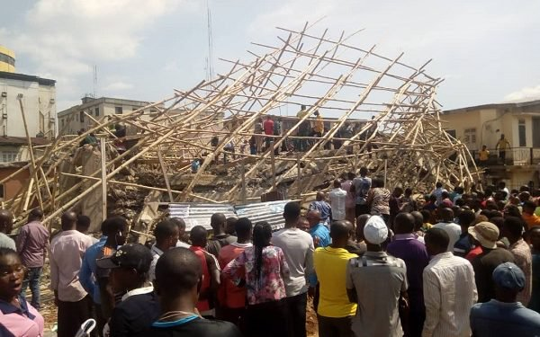 Just in: 6 feared dead in Onitsha building collapse