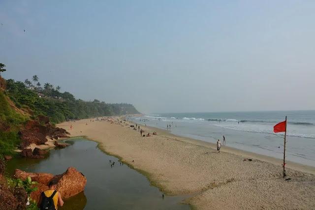 Varkala Beach View