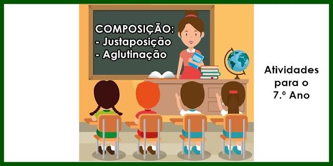 Formação de Palavras - Atividades de Língua Portuguesa para o 7.º Ano