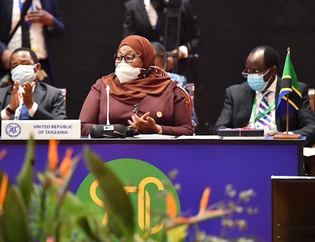 Rais Samia Suluhu Hassan ashiriki Mkutano wa SADC -Maputo nchini Msumbiji