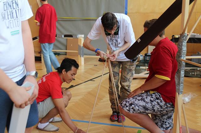 Teambuilding Aktivitäten Outdoor Ramsau Steiermark Conout Österreich - REWE Group Persönlichkeitsseminar für Lehrlinge