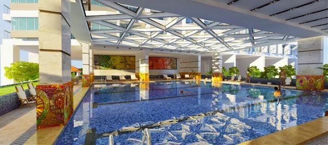 Bể bơi trong nhà Green Pearl Minh Khai