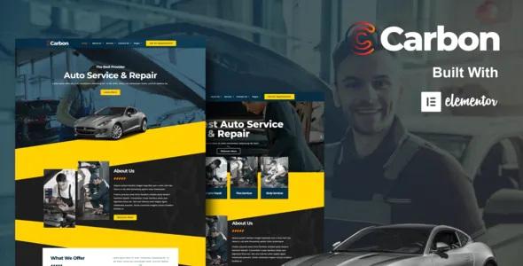 Best Car Service Elementor Template Kit