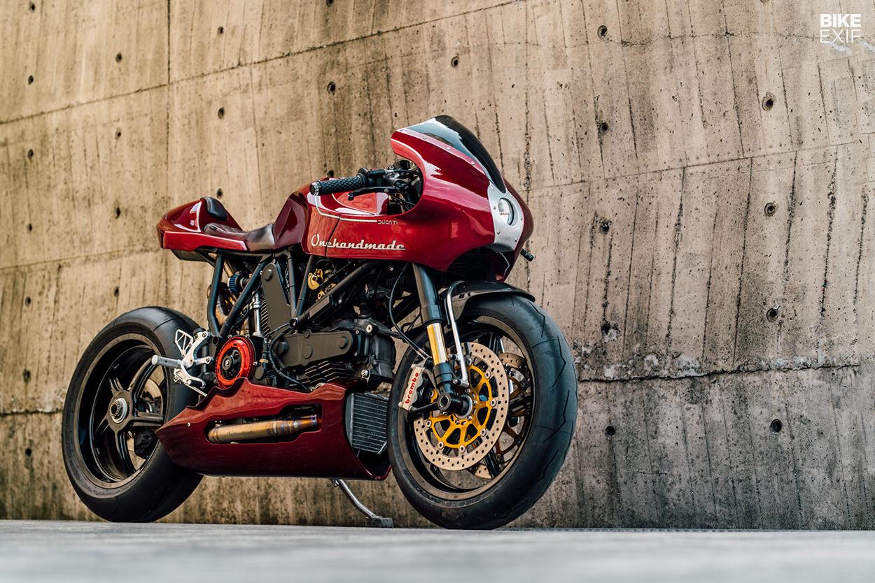 Konsep Modern Classic Ducati Modifikasi