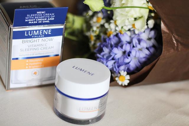 lumene крем с витамином с, люмине крем для лица отзывы,  Bright Now Vitamin C Sleeping Cream, люмене ночной крем