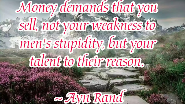 ayn rand motivational quotes