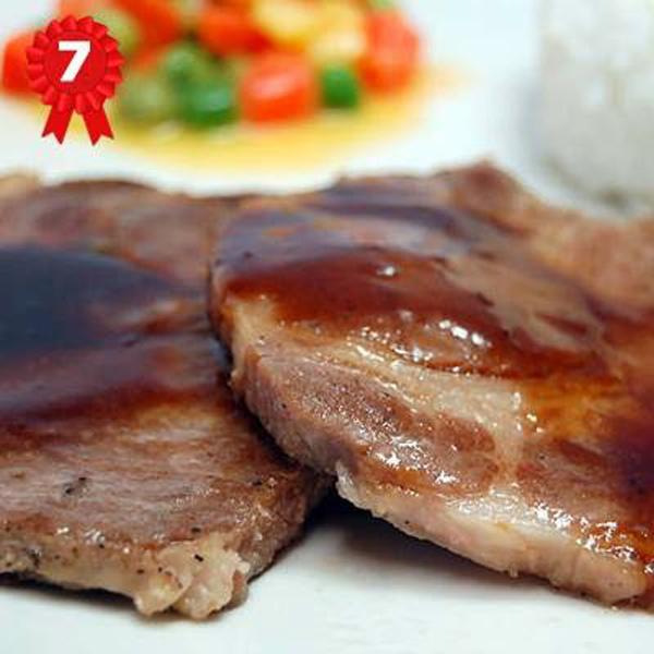 Bon Doys: Grilled Pork with gravy