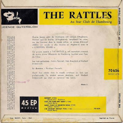 The Rattles – Au Star Club De Hambourg EP (1964)