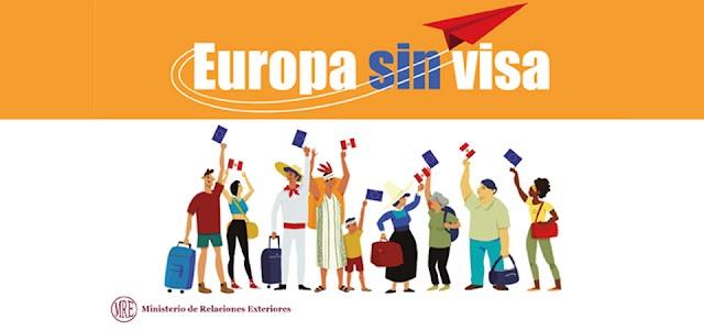 Dominicanos no necesita visa viajar Europa