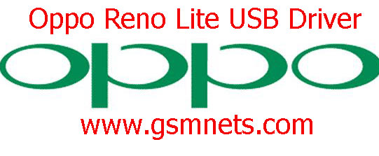 Oppo Reno Lite USB Driver Download