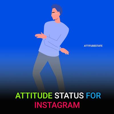 Top 11+  Attitude Status Instagram Hindi