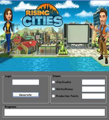Download Free Rising Cities  (All Versions)  Hack Unlimited City Credits,Metro Money,Production Points 100% working and Tested for IOS and Android MOD..