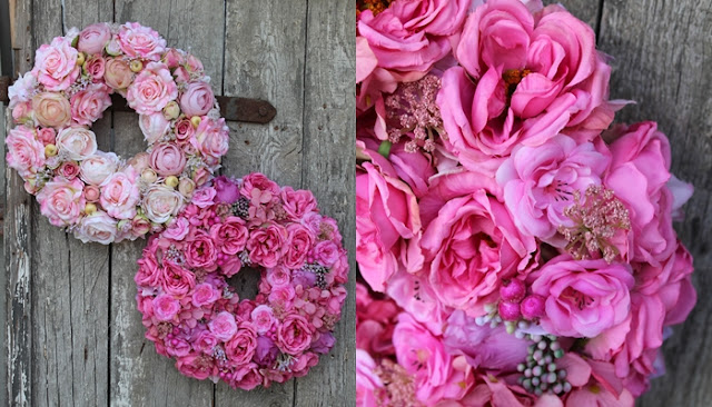 Bogactwo kwiatów w wiankach tenDOMowych