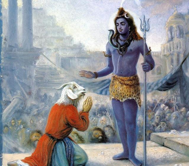 Daksha and Lord Shiva