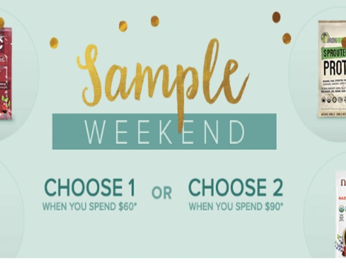 Well.ca Free Sample Weekend + $10 Off Promo Code