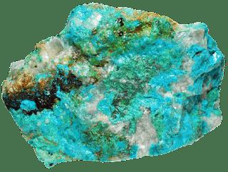Aspecto y textura de la crisocola (silicato de cobre)  | foro de minerales