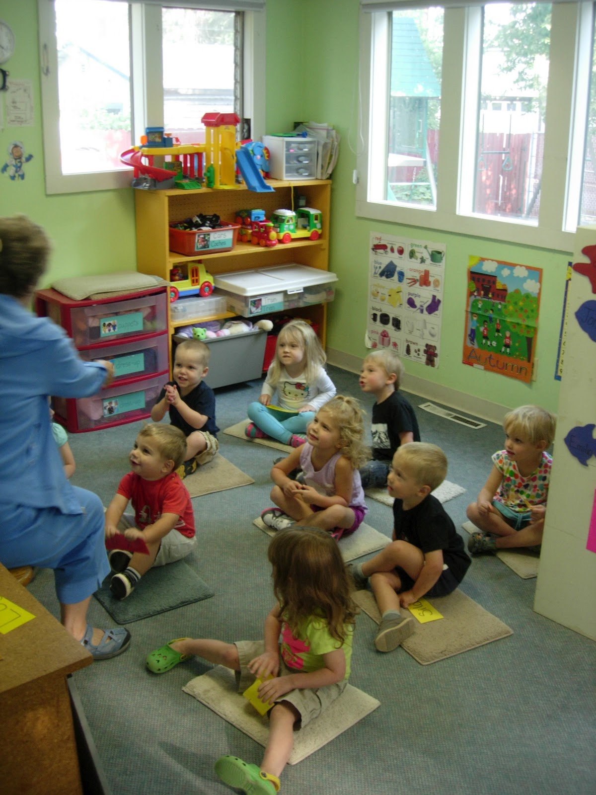 The Early Preschool Classroom Theme All About Me And My