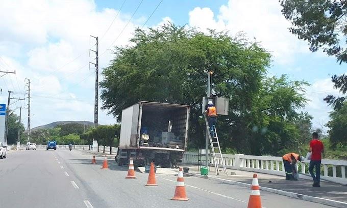 Dois radares são removidos em Jacobina; fim das multas e medo de aumentar acidentes