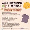 ADAB BERPAKAIAN & BERHIAS | 4 | TIDAK MEMAKAI PAKAIAN KETENARAN (SYUHROH)