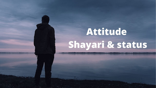 Best Attitude Shayari & status In Hindi 2 line shayari for Facebook