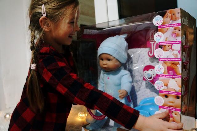 Marzenie każdej dziewczynki- Lalka- dzidziuś- interaktywna Little Joy