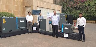 Atlas Copco unveils new variant of VSD compressors under 'Make in India'
