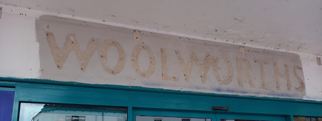 A Woolworths ghost sign in Nuneaton