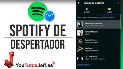 Poner Canción de Spotify como Alarma en tu Teléfono - Trucos Spotify