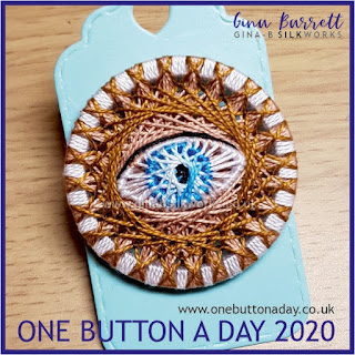 One Button a Day 2020 by Gina Barrett - Day 6 : Polyphemus