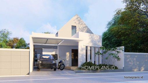 A The Essentials House 9x15 Desain Rumah 1 Lantai Kode 053