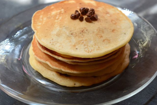 Choc Chip Pancakes | Quick Pancakes for Kids