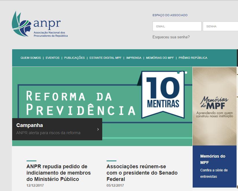 f6e21c4d867 10 Mentiras - Reforma da Previdência - Associação Nacional dos Procuradores  da República - ANPR