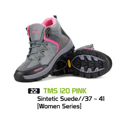 Sepatu Gunung Wanita TMS 120 Pink
