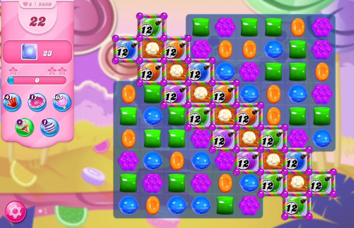 Candy Crush Saga level 5650