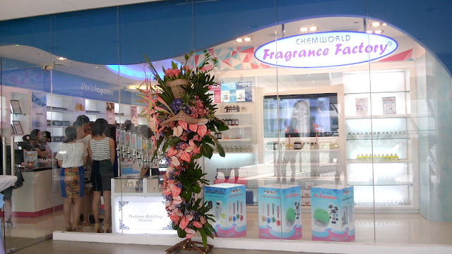 16th branch of Chemworld Fragrance Factory located 3/F BGC Stopover Pavillion, 31st Street corner Rizal Drive, Fort Bonifacio Global City, Taguig, Philippines. The Grand Opening and blessing was held last May 31, 2016!