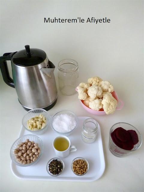 pickled cauliflower recipes
