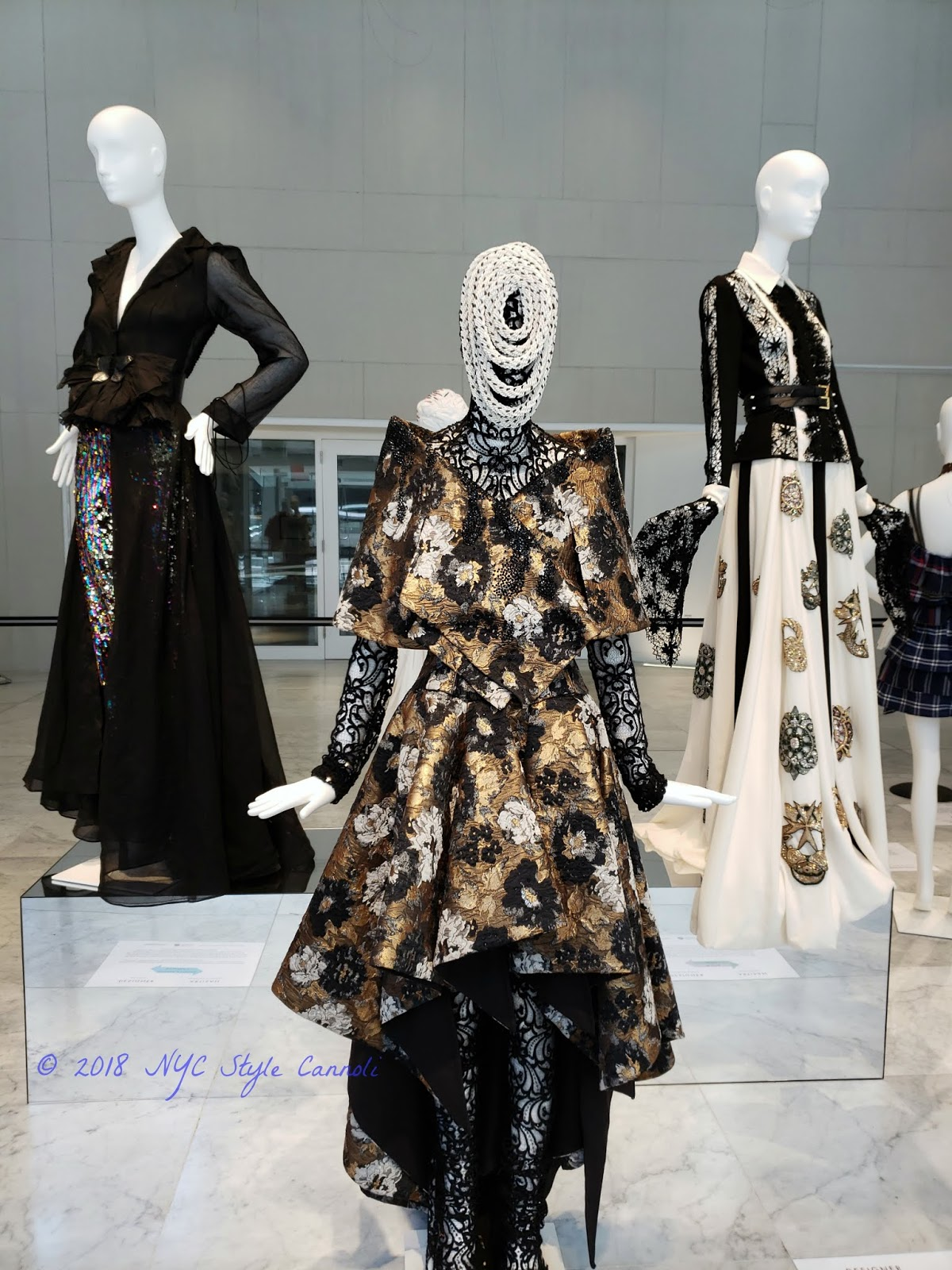 NYC, Style & a little Cannoli: Fashions at Museum at FIT
