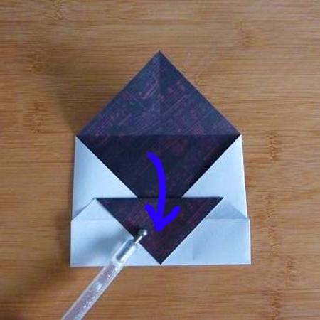 Folding paper envelope craft instructions