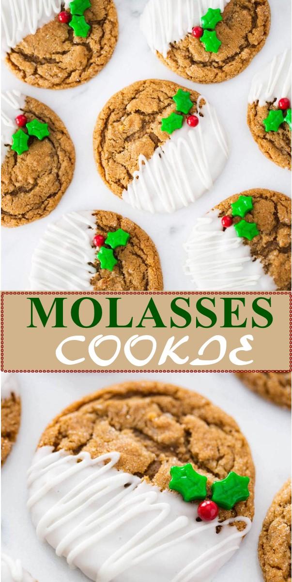 MOLASSES COOKIE RECIPE #cookiesrecipes