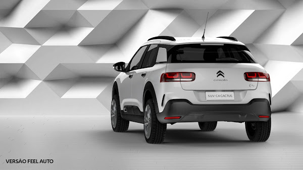 Citroën C4 Cactus Live tem descontos de até R$ 6 mil nesta semana