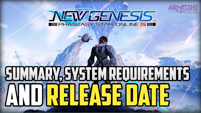 Pso2 new genesis release date