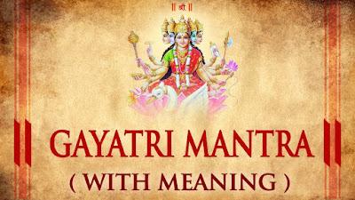 gayatri mantra in hindi
