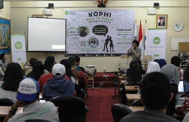 KOPHI dorong pelajar Jakarta terlibat dalam pelestarian lingkungan