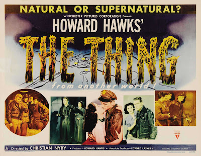 El enigma del otro mundo / The Thing (1951) / Poster