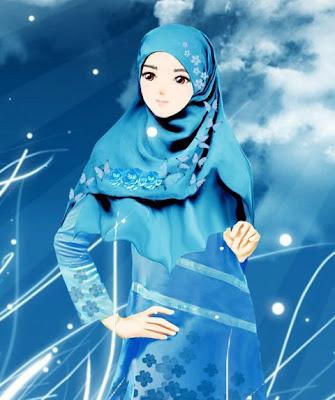 gambar-kartun-muslimah-cantik-imut