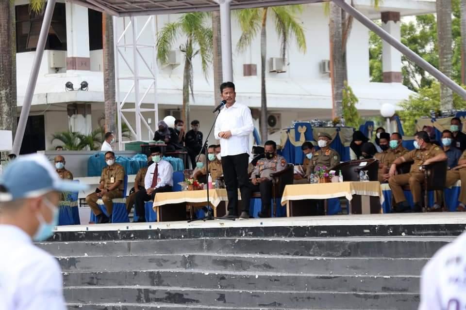 Pemko Batam Seleksi Paskibraka Kota Batam, Rudi : Jadilah Generasi Muda Yang Tak Mudah Menyerah
