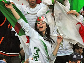 World Cup Brazil 2014: sexy hot girls football fan, beautiful woman supporter of the world. Pretty amateur girls, pics and photos   Argelia Algeria