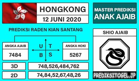 Prediksi Togel Hongkong Jumat 12 Juni 2020 - Anak Ajaib