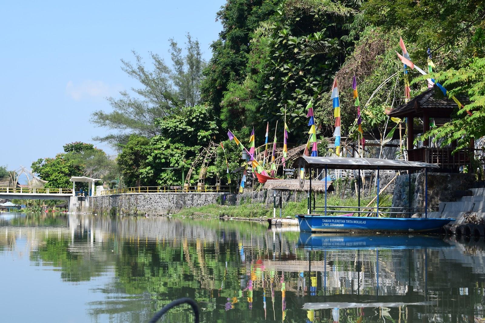 wisata perahu di jogja Wisata Air Taman Tirta Wolulas Kali Gajah Wong Giwangan